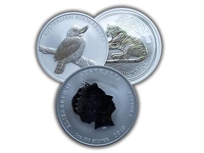 Silbermünzen, Kapitalanlage